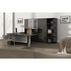 Office Furniture Deals provides the largest selection of professional office desks for sale online. Shop high end executive office desks, U shaped workstations, computer desks, and professional home office desks today at up to off. Office Desk For Sale, Modern Office Desk, Home Office Desks, Office Suite, Booth Seating In Kitchen, Corner Seating, Office Seating, Furniture Deals, Office Furniture