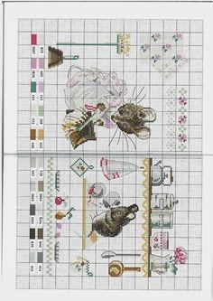 schemi punto a croce Beatrix Potter3   Hobby lavori femminili - ricamo - uncinetto - maglia