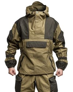 Gorka 4 Demi-season Original Bars Russia Special Forces Military Uniforms Gru for sale online Tactical Wear, Tactical Clothing, Survival Clothing, Survival Gear, Mode Masculine, Trekking Outfit, Cyberpunk Fashion, Special Forces, Outdoor Outfit