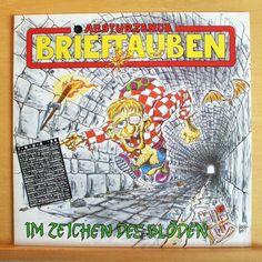 ABSTÜRZENDE BRIEFTAUBEN Im Zeichen des Blöden Vinyl LP - Das Grauen kehrt zurück
