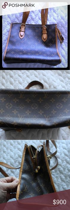 Louis Vuitton Popincourt Haut Shoulder Bag Used less than 10 times. Was originally purchased new at LV in NY. Bag is in amazing shape. 11x10x5.5 Louis Vuitton Bags Shoulder Bags