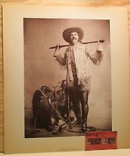 Buffalo Bill Standing Photograph Print from Museum Historical Center Cody Wy FOR SALE on EBAY by seller OLDWEST $28.00
