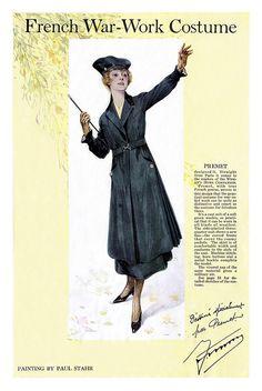 1917 World War 1 Fashion by clotho98, via Flickr