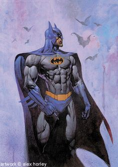 Batman by Alex Horley