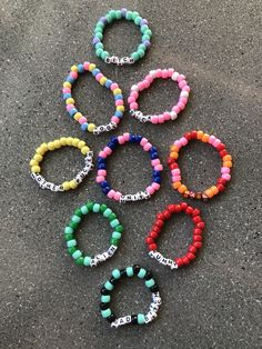 VSCO Spa Filters: Everything You Need To Know Article Body: Spa filters are on Letter Bead Bracelets, Rave Bracelets, Pony Bead Bracelets, Diy Beaded Bracelets, Making Bracelets With Beads, Friendship Bracelets With Beads, Trendy Bracelets, Summer Bracelets, Colorful Bracelets