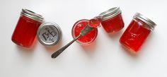 Rhubarb Vanilla Bean Jelly   Simple Bites #recipe #canning #preserving
