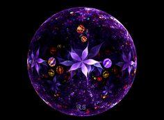A Magical Garden Globe by *fractal1 on deviantART