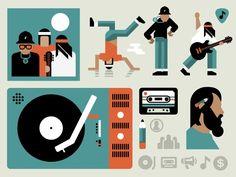 Icons, Symbols & Pictograms / Muzik1