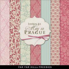 Far Far Hill: New Freebies Kit - May in Prague