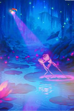 The princess and the frog - tiana and prince naveen - disney wallpaper