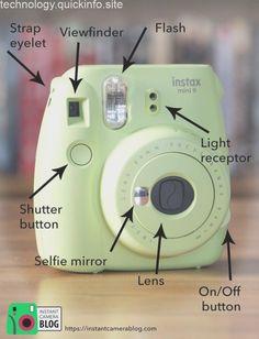 Parts of the Fujifilm Instax Mini 9 - Instax Camera - ideas of Instax Camera. Trending Instax Camera for sales. - Parts of the Fujifilm Instax Mini 9