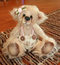 PDF E Pattern Gracie Artist Bear by Bosley Bears by BOSLEYBEARS