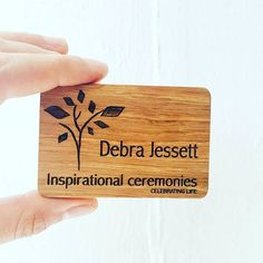 Beautiful branding engraved on this #badgeforlife!  Our reusable name badges are made to last so can be used daily or add style to special events, conferences or networking!  The magnetic fixing means no more pin holes in your work shirts!  #professional #stylish #innovation #design #eventprofs #networking #namebadges #id #nametag #green #ethical #madeinbritain #madeinuk #problemsolving #creative #inspiration #ideas #sustainability #responsiblepurchasing #consciousliving #business #b2b