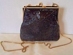 Details about  /La Regale Raffia Tassel Box Clutch.