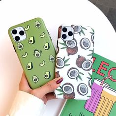 Cartoon Fruit Case For iPhone - Design: Geometric Type: Fitted Case Function: Waterproof Function: Dirt-resistant Function: Anti-kn - Girly Phone Cases, Cool Iphone Cases, Iphone Phone Cases, Iphone 5c, Iphone Case Covers, Best Phone Cases, Iphone Headphones, Custom Iphone Cases, Buy Iphone