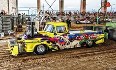 `55 Chevy 2 WD Puller