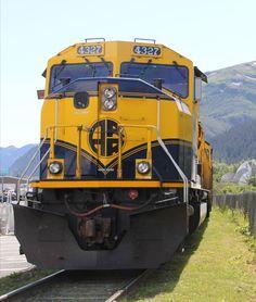 Alaska RR at Whittier Alaska Railroad, Train Engines, Locomotive, Buses, Steel, Wallpaper, Pictures, Wall, America