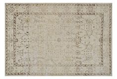 "#17235 Origin:Afghanistan Design:Persian Tabriz Design Size:5' 10"" x 8' 6"" Sqft:49.58′ Color:White"