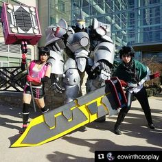 Good morning  Credit @eowinthcosplay Photo taken by @normazhang  #godeatercosplay #godarc #godeater #lenkacosplay #lenka #overwatch #overwatchcosplay #rienhardtcosplay #nanacosplay #nana #videogamecosplay #animecosplay #anime #katsucon2017 #katsucon