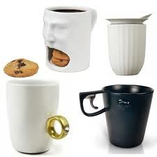 Coffee lovers - what makes your drinking gear special? Style? Humor? Interactivity? Functionality? This is one of our favorites. Check our MUGS board for more!  Thanks for drinking.