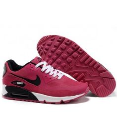 low priced 4660a d12e3 original 2014 Dam Nike Air Max 90 Hyperfuse Premium Rosa Blixt Svart-Vita  Sportskor