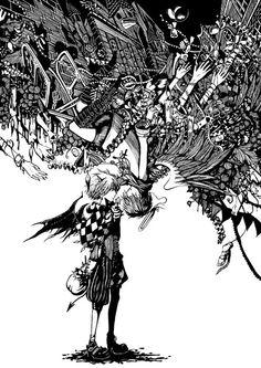 by Japanese artist Soga Kayoko