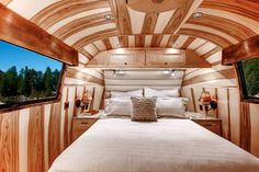 The Ridgway is an amazingly beautiful custom Airstream.
