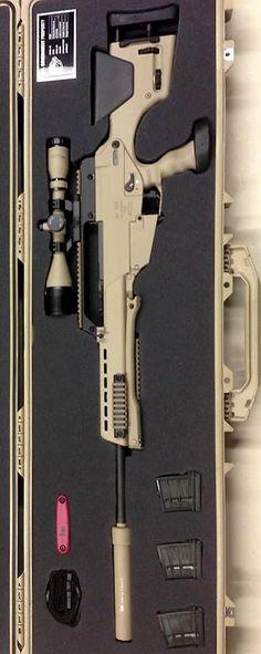 SL8 conversion to PSG-8 by Tom Bostics.