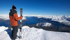 Ski Queenstown, New Zealand at the Remarkables