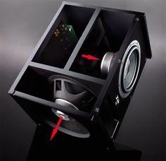 Pro Audio Speakers, Diy Speakers, Hifi Audio, Horn Speakers, Monitor Speakers, Custom Speaker Boxes, Speaker Box Design, Subwoofer Box Design, Subwoofer Speaker