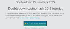 Doubledown casino hack 2015   Online generator cheats