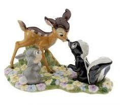 Bambi and Flower salt & pepper shakers