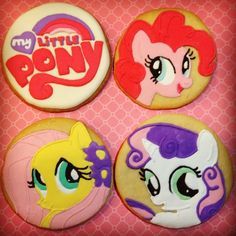 My Little Pony Cookies | The Cookie Builder