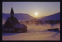 at 78.22 degrees north, longyearben is the northernmost settlement in the world, located in svalbard region of norway - way north of the arctic circle.