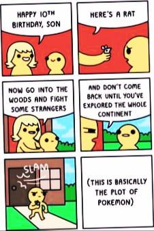 Fight some strangers son! - Funny Pokemon - Funny Pokemon meme - - Fight some strangers son! The post Fight some strangers son! 9gag Funny, Funny Shit, Funny Memes About Life, Funny Jokes, Funny Stuff, Funny Life, Pokemon Funny, Pokemon Stuff, Life Humor