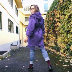 Ullteppe-jakke OPPSKRIFT | ingridviklysne