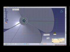 CATIA V5 - GSD & PDG: Propeller Tutorial - YouTube
