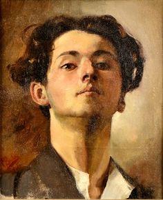 Corneliu Baba self portrait