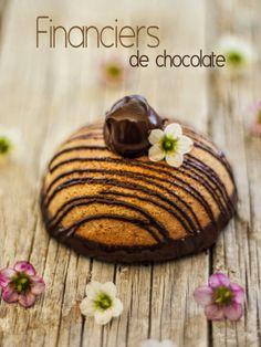 Bocados dulces y salados: Financiers de chocolate