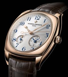 La Cote des Montres : Les montres Vacheron Constantin Harmony Dual Time Calibre 2460DT - Contemporaines par excellence