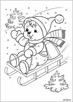 Family Christmas coloring page Christmas Coloring Sheets, Coloring Sheets For Kids, Cute Coloring Pages, Disney Coloring Pages, Coloring Pages For Kids, Coloring Books, Illustration Noel, Art Drawings For Kids, Christmas Drawing