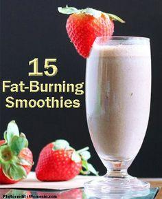 15 DIY Fat Burning Smoothies