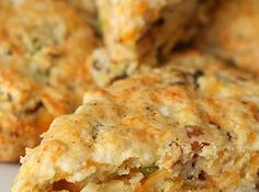 Bacon Cheddar Scones Recipe