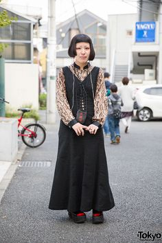 Moepi, 21 years old, works at Kinji | 28 November 2014 | #Fashion #Harajuku (原宿) #Shibuya (渋谷) #Tokyo (東京) #Japan (日本)