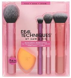 Top 10 brochas de maquillaje profesional archivos - Amazon tops 10 Real Techniques Set, Real Techniques Makeup Brushes, Bare Minerals, Blush Highlighter, Concealer, Essential Makeup Brushes, Eyeliner Tutorial, Cleansing Gel, Blush Brush
