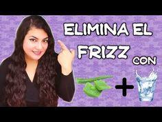 Elimina el frizz de tu cabello con sábila y agua mineral con gas | Belleza