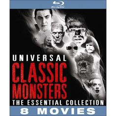 Universal Classic Monsters: The Essential Collection (Blu-ray) (R) (Widescreen)