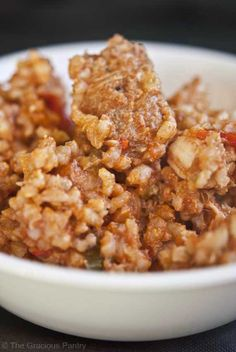 Clean Eating Jambalaya  My thoughts: I have my secrets for Cajun cooking...I may share if you are nice.