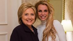 Britney Spears Meets Hillary Clinton In Vegas