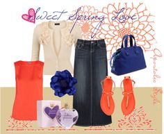 """""""Sweet Spring Love *Apostolic Style*"""" by emmyholloway on Polyvore"""